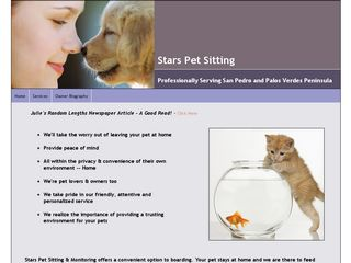 Stars Pet Sitting Service | Boarding