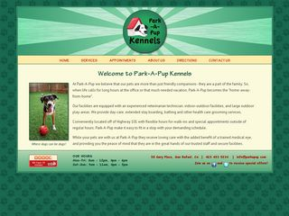 Park A Pup Kennels | Boarding