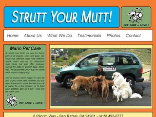 Strutt Your Mutt Pet Care San Rafael