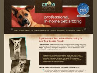 Crow Canyon Pet Sitting | Boarding