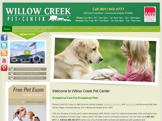 Willow Creek Pet Center Sandy