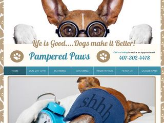 Pampered Paws Dog Day Care | Boarding