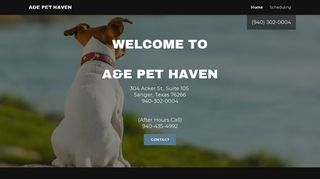 A&E Pet Haven Sanger