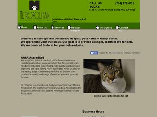 Metropolitan Veterinary Hospital | Boarding