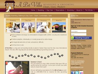 A Pet Villa | Boarding