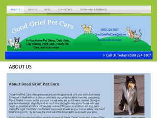 Good Grief Pet Care | Boarding