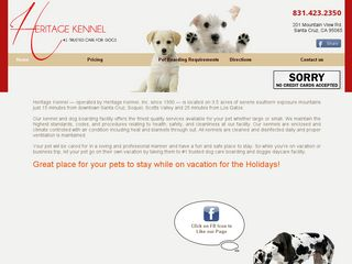Heritage Kennel | Boarding