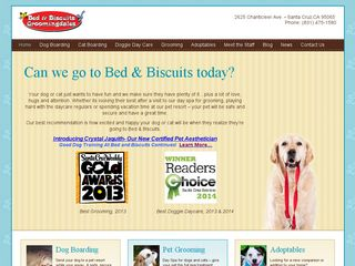 Bed  Biscuits Groomingdales | Boarding