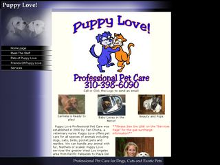 Puppy Love Pet Sitting | Boarding