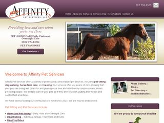 Affinity Pet Services LLC | Boarding