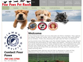 Four Paws Pet Ranch Santa Rosa