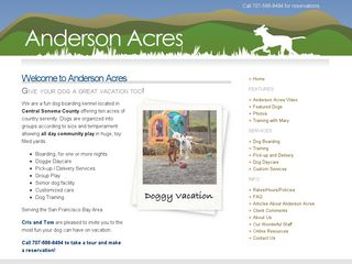 Anderson Acres | Boarding