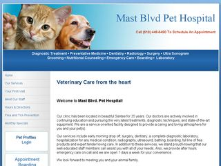 Mast Blvd Pet Hospital | Boarding