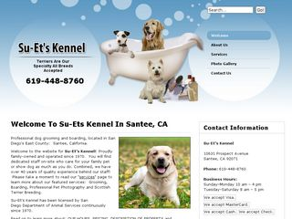 Photo of S U E T S Kennels in Santee