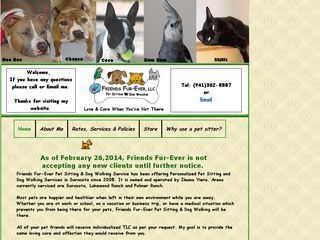 Friends Fur Ever Pet Sitting Sarasota