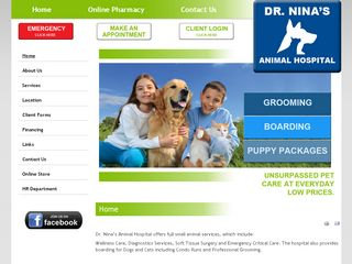 Dr Ninas Animal Hospital | Boarding