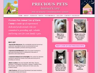Precious Pets Animal Care | Boarding