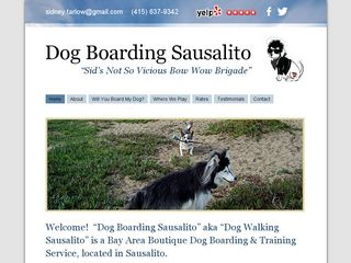Dog Walking Sausalito | Boarding