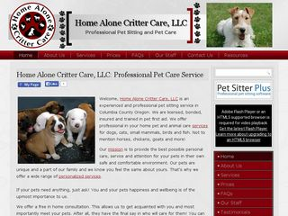 Home Alone Critter Care | Boarding