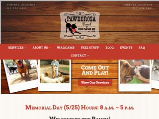Pawderosa Ranch Doggie Play and Stay | Boarding