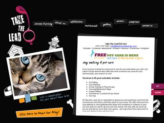 Take the Lead Pet Care | Boarding