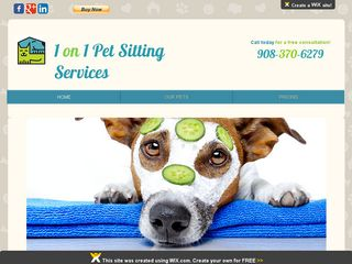 1 on 1 Pet Sitting Services Scotch Plains