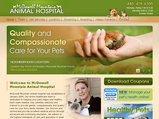 Mc Dowell Mountain Animal Hospital Scottsdale