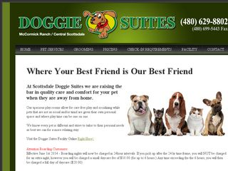 Scottsdale Doggie Suites | Boarding