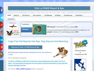 Villa La PAWS Resort and Spa | Boarding