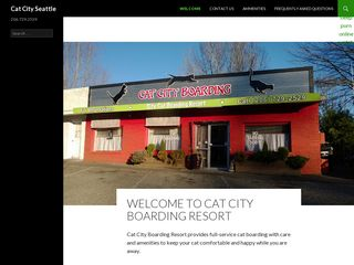 Cat City Boarding Resort Seattle