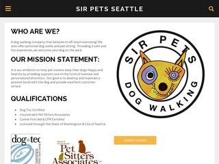 Sir Pets Seattle