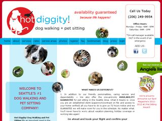 Hot Diggity! Dog Walking + Pet Sitting Seattle Seattle