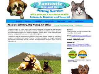 Fantastic Dog and Cat Sitting Services Seattle