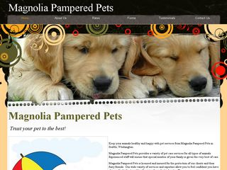 Magnolia Pampered Pets Seattle