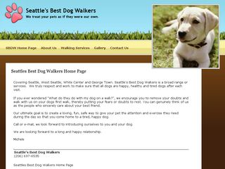 Seattles Best Dog Walkers | Boarding
