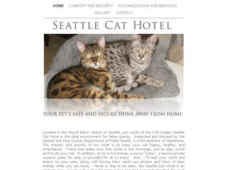 Seattle Cat Hotel | Boarding