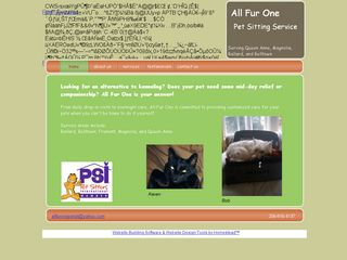 All Fur One Pet Sitting Service Seattle