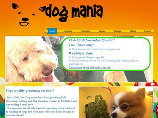 Dog Mania Inc | Boarding