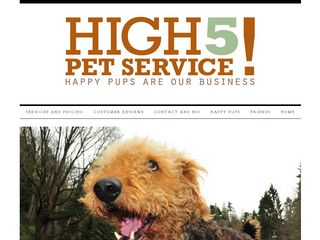 High5 Pet Service | Boarding