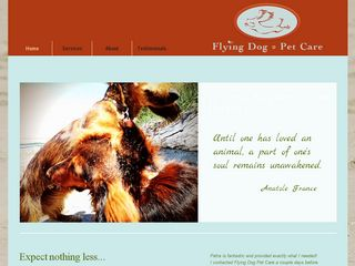 Flying Dog Pet Care | Boarding