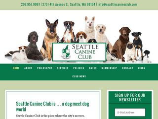 Seattle Canine Club | Boarding