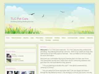 TLC Pet Care Pet Sitting   Dog Walking Services | Boarding