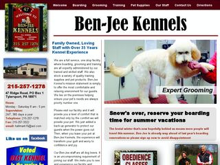 Photo of Ben Jee Kennels in Sellersville
