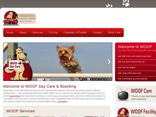 Woof Day Care & Boarding | Boarding