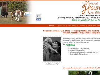 Homeward Hounds Newnan Pet Sitting & Dog Walking | Boarding