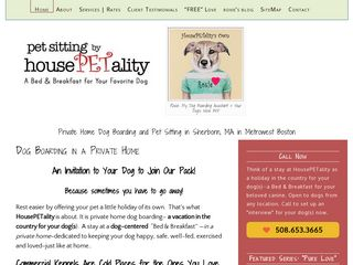 HousePETality Dog Boarding Pet Sitting | Boarding