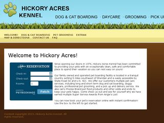 Hickory Acres Boarding Kennel Sheridan