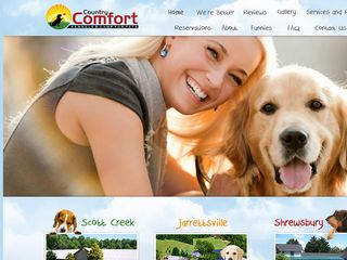 Country Comfort Kennels Camp for Pets | Boarding