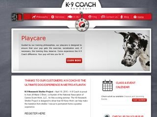 K 9 Coach and Bed  Bark Smyrna