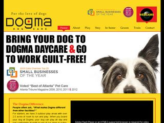 Dogma Dog Care | Boarding